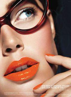 L'Oreal Colour Riche Lipstick #orange