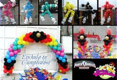 power rangers party ideas | flash