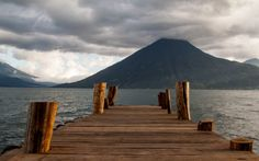 Lake Atitlan Guatemala is a beautiful place to live. An apartment near San Marcos was my second home during my time in Lake Atitlan. Lake Atitlan, Beautiful Places To Live, Mount Rainier, Backyard, San, Adventure, Mountains, Blog, Travel