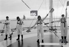 #U2History - 20th June 1992: @u2 protest against the #Sellafield nuclear plant for Greenpeace International on the coast of the Irish Sea in #Cumbria, #England.  Photos By: ©Adrian Boot / urbanimage.tv VIA: urbanimage.tv #U2NewsIT  #U2 #u2memes #Bono #BonoVox #TheEdge #AdamClayton #LarryMullenjr #rock #music #rockmusic #blackandwhite #greenpeace #90s #90sstyle #90smusic #90srock