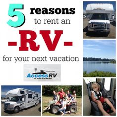 5 reasons to rent an RV for your next vacation on SixSistersStuff.com #travel #vacation #roadtrip