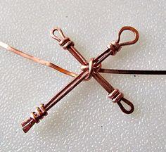 Wire Wrapped Cross Tutorial | Jewelry Pinn