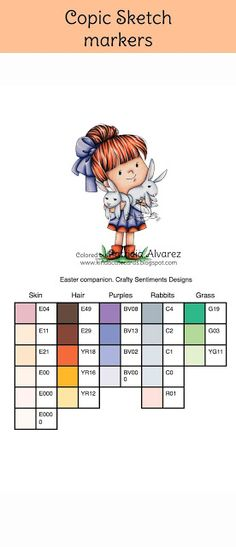90 Best Copic markers color charts images in 2019 Color