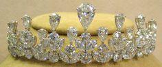 Platinum and diamond tiara ... as a tiara