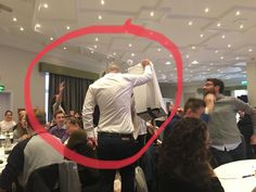 Attending teacher training sessions; even ME is being annotated and provided with live feedback - in the moment - using annotated Twitter photos. #TTkitCPD