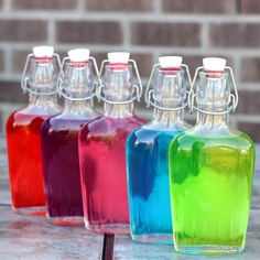 Jolly Rancher Vodka is one of the easiest and quickest candy liquor infusions you can make, and it tastes just like Jolly Rancher candies. It makes a great gift, too. Check out my simple, four-step tutorial.