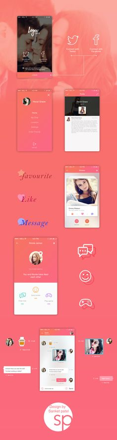Dating app design iOS – iOSUp