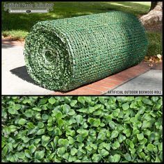 Outdoor Artificial Boxwood Roll 24 Foot