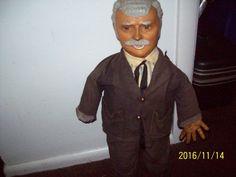 1950s Original Captain Kangaroo (Robert Keeshan Doll, Baby Barry Toy N.Y.C #BabyBarryToyNYC