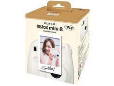 Câmera Instantânea Fujifilm Instax Mini 8 - Lente Fujinon Flash Automático com as melhores condições você encontra no Magazine Morenawinni. Confira!