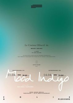 Le Cinéma Olfactif | We follow the people and ideas shaping our world