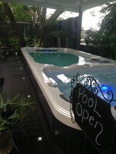 Opening Day! work hard friends, but don't forget to take it easy too. http://www.vortexspas.co.nz/ #swimspa #swimming