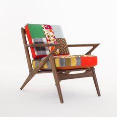 🔥🔥 #soto #midcenturymodern #armchair #walnut #patchwork