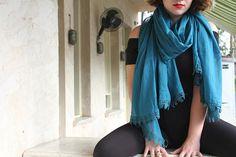 Bohemian Infinity Scarves Scarf for Women Lace Boho Scarf Wrap Women Winter Accessories Loop Scarf, Scarf Wrap, Scarf Sale, Winter Accessories, Neck Scarves, Boho Outfits, Womens Scarves, Shawl, Winter Blue