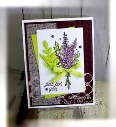 Me, My Stamps and I: Stampin' Up Lots of Lavender
