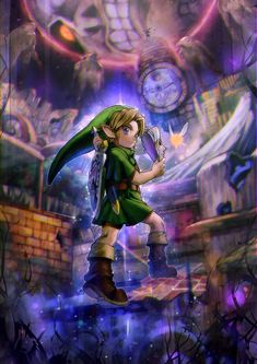 Legend of Zelda Majora's Mask by Aoki via pixiv