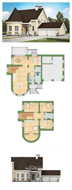 Ev villa projesi 275-001-L | House Expert
