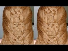 Easiest Way to do a Celtic Braid - YouTube