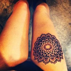 This is what I want but on the side of my thigh ❤️  Sexy Thigh Tattoo Designs and Ideas for Girls37
