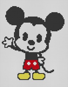 MINECRAFT PIXEL ART – One of the most convenient methods to obtain your imaginative juices flowing in Minecraft is pixel art. Pixel art makes use of various blocks in Minecraft to develop pic… Disney Cross Stitch Patterns, Cross Stitch Designs, Pixel Art Mickey, Cross Stitching, Cross Stitch Embroidery, Pixel Art Templates, Minecraft Templates, Perler Bead Art, Hama Beads
