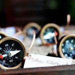 Choosing Compass as Irregular Bridal Favor