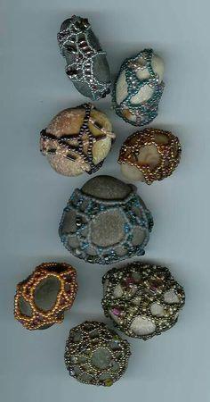 Beaded rocks