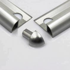Source Professional China Manufacture Aluminum and Stainless Steel Tile Trim on m.alibaba.com Stairs Tiles Design, Tile Design, Power Coating, Tile Edge, Tile Trim, Modern Master Bathroom, Stainless Steel Polish, Tiles Texture, Extruded Aluminum