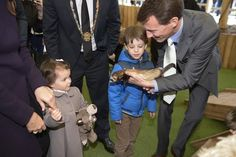 Prince Joachim as Patron of Aalborg Zoo together with Princess Marie, Prince Henrik and Princess Athena visited the zoo today,  to celebrate the it's 80th birthday.18/04/2015