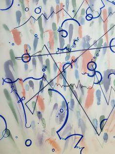 손의 흔적과 물방울이 터지는모습을 그래픽적으로 나타낸 제스쳐를 결합시켜봄.