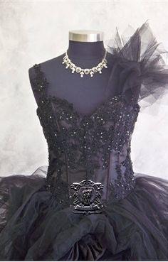 Black Wedding Dress    If only ....