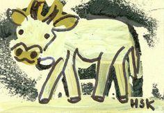 Hans Krüsi - Artbrut-Sammlung Swiss Switzerland, Art Brut, Outsider Art, The Outsiders, Disney Characters, Fictional Characters, Moose Art, Animals, Switzerland