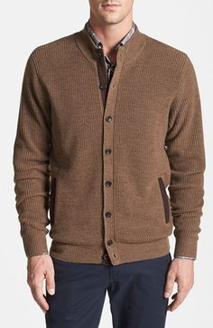 Peter Millar Merino Wool Cardigan available at #Nordstrom