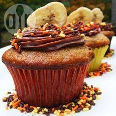 Cupcakes de Banana con Dulce de Leche @ allrecipes.com.ar