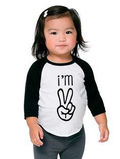 Toddler 2 Year Old Shirt Gift Shirt Unisex Cute by BBALLPRIDE