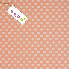 Úplet Bílé puntíky na růžové