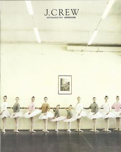 scanned by lifeasacat via drifter, the jcrew sept. 2011 front cover. makes me want to be a ballerina!
