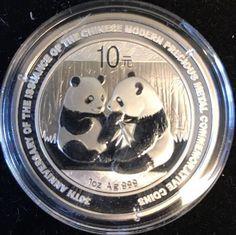 2009 Chinese Silver Panda 30th Anniversary 1oz