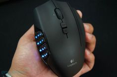 Logitech gaming mouse - just like the one my boyfriend has .