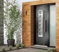 Brand New Gorgeous Contemporary Composite Front Door. Front Door Design, Window Design, Contemporary Front Doors, Modern Contemporary, Composite Front Door, Window Glazing, Door Fittings, Traditional Doors, Aluminium Doors