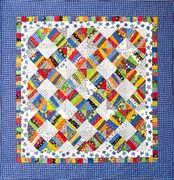 Cheerios. Love this scrap quilt.  I have lots of fabric for this.