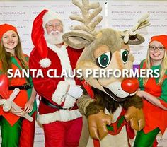 Hire our professional Santa Claus services for children's events.
