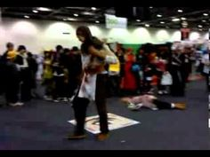 Assassin's Creed Brotherhood - Cosplay Fight (MCM Expo London)