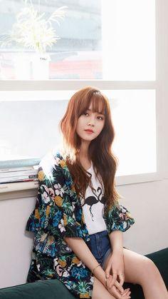 Ulzzang Korean Girl, Cute Korean Girl, Cute Asian Girls, Korean Actresses, Female Actresses, Asian Fashion, Girl Fashion, Kim So Hyun Fashion, Kim Sohyun