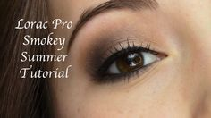 Lorac Pro Smokey Summer Makeup Tutorial