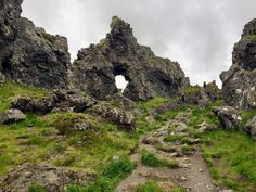 Looks like a portal to another world. Snæfellsbær, Iceland [4032x3024] #nature and Science