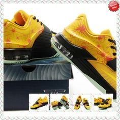 KDVII-011 Yellow Nike KD VII Mens Online Outlet