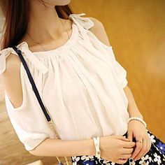 Buy 'Dora – Tie-Shoulder Chiffon Top' with Free International Shipping at YesStyle.com. Browse and shop for thousands of Asian fashion items from China and more!
