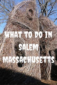 What to Do in Salem Massachusetts, to understand the infamous Salem Massachusetts Witch Trials. This is a grim reminder of the history of Salem and has turned the town into a tourist attraction. This is why I went, and I discovered a lot more as well. #travel #Salem #Massachusetts