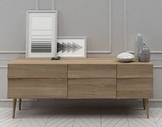 "Check out new work on my @Behance portfolio: ""3D MODEL Muuto Reflect Sideboard…"