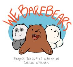 """losassen:  """"It is finally coming!!!! For the last year I have had the AMAZING opportunity to work on a new show created by Daniel Chong on Cartoon Network, coming out this month called We Bare Bears! I am so excited for everyone to meet the bears and..."""